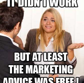 Free Marketing Advice
