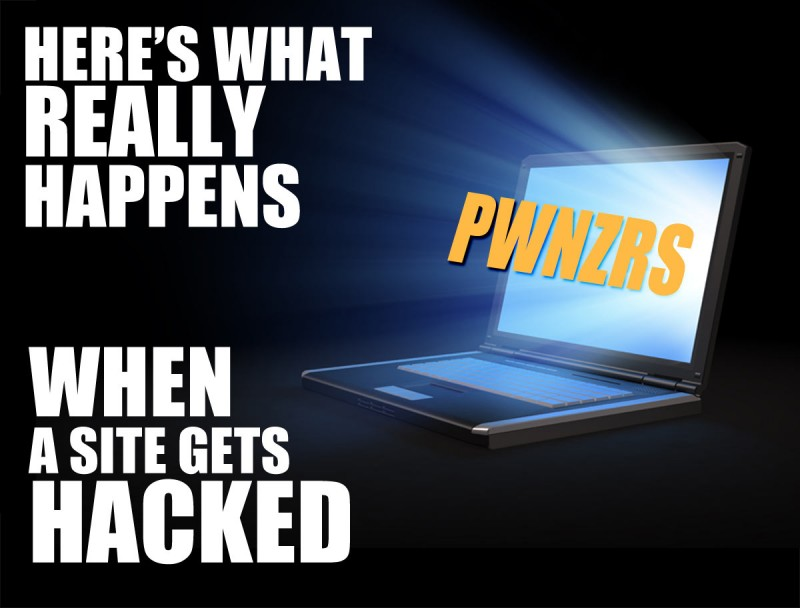 what happens when a website gets hacked