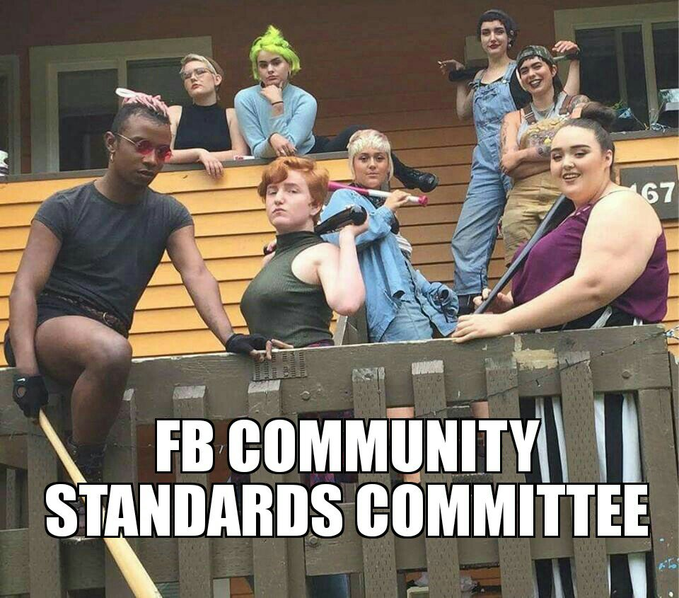 Facebook jail where the facebook community standards committee puts you